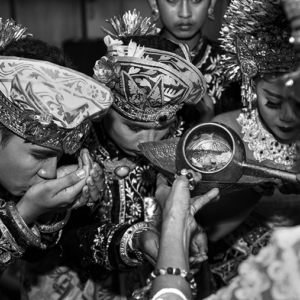 Balinese tooth cutting ceremony