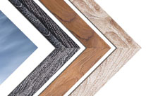 TEAK OR HARWOOD FRAME