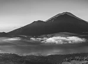 Sunrise over Mount Batur